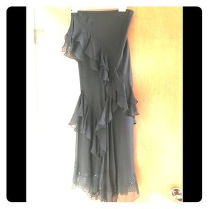 Black Evening Skirt